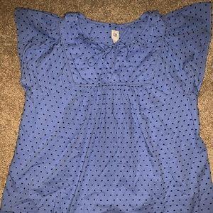 GAP womens blouse size med